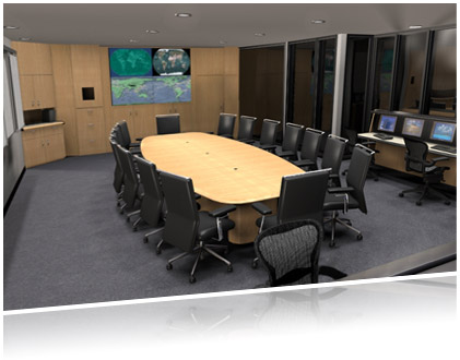 Your conference room and control room in the spotlight